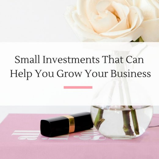 Six investments your small business should be making this year. | Imperfect Concepts