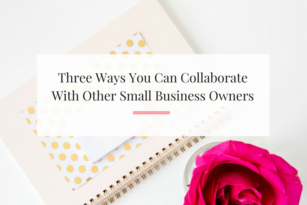 Learn why and how you can create a win win partnership with other bloggers, influencers and small business owners. | Imperfect Concepts