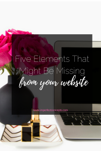 Most people are missing one of these five items from their website.