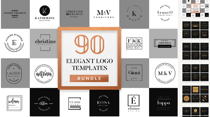 elegant-logo-bundle-pack