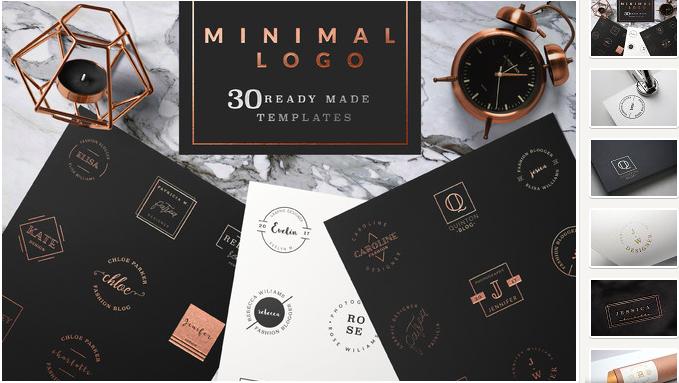 feminine-logo-templates-minimal