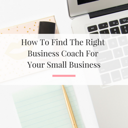 9 tips from a successful business coach sharing how to hire the right business coach for your small business. | Imperfect Concepts