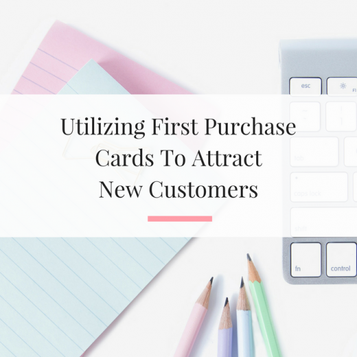 Learn how to design a first purchase card in canva that helps you obtain new local customers or clients. | Imperfect Concepts