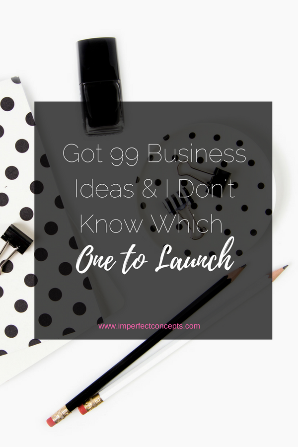 3 Sure fire ways to trim the fat and launch the right business. | Imperfect Concepts