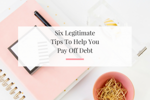 Learn how to really tackle your debt this year. Utilizing these tips that have huge impact. | Imperfect Concepts
