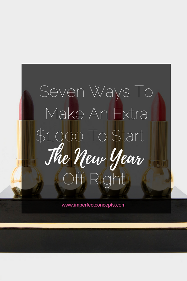 Learn how to add an additional $1,000 to your pockets before 2017 starts. | Imperfect Concepts