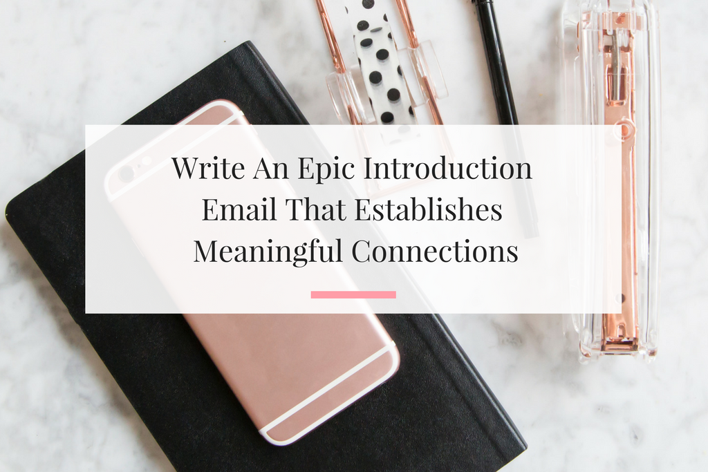 Four tips to help you write introduction email for a business purposes. | Imperfect Concepts