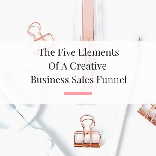 Learning how a sales funnel works is vital to the success of a creative small business owner. | Imperfect Concepts