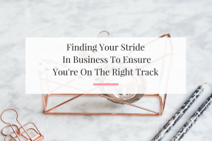 Sharing insight on how you can make stride in your small business. | Imperfect Concepts