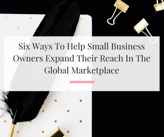 Learn how you can lend a helping hand to other business owners.   Imperfect Concepts