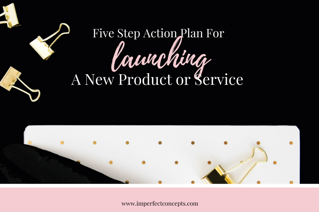 Learn how to create buzz around your new product or service, before your launch day. Tips on marketing, social media and launch cheerleaders.   Imperfect Concepts