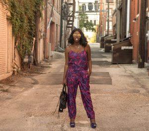 Tasha Robinson of Imperfect Concepts| Jumper: Jcrew, Bag: Balenciaga, Shoes: Steve Madden