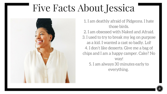 Five fun facts about Jessica of No Real Jewelry