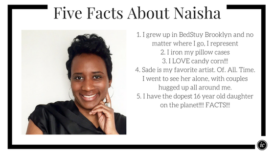 Fun facts about Naisha of Brownstone Closets