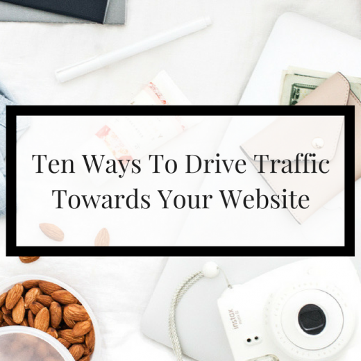 Easy ways for you to drive traffic to your website as an online business owner. Imperfect Concepts