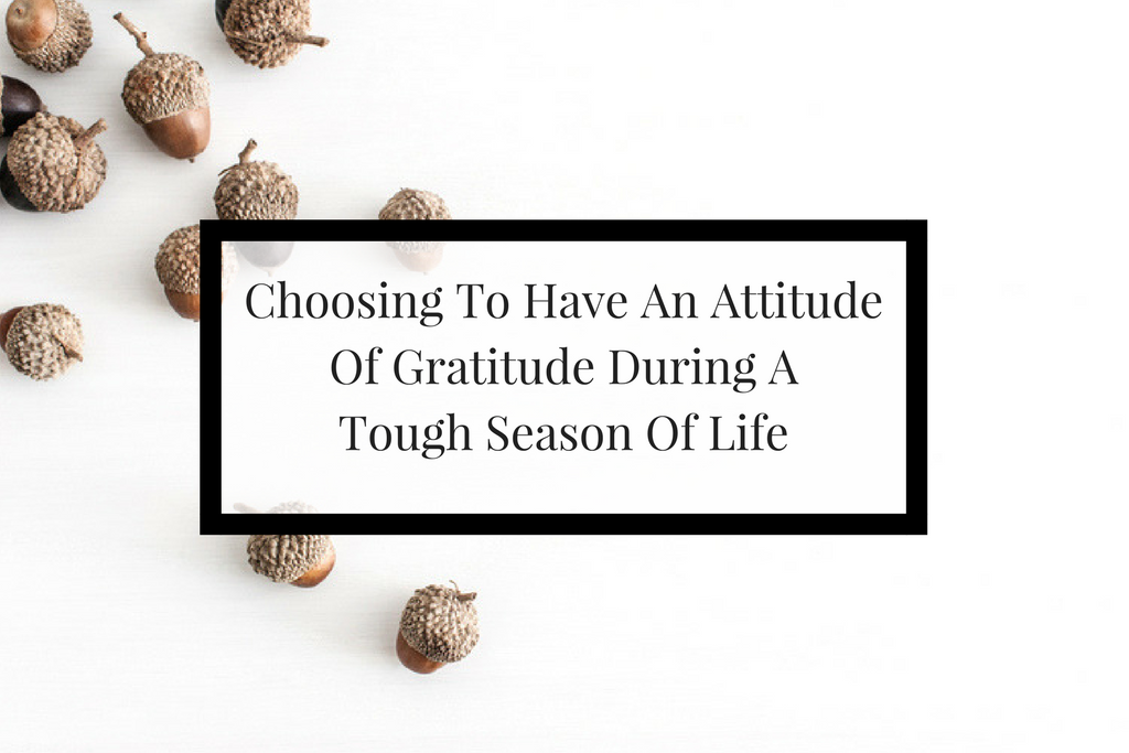Three things I learned during my tough season that has strengthen me to do greater things.