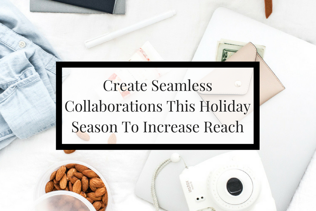 4 tips to help you this holiday season increase your small business sales by utilizing collaboration with like minded businesses owners.