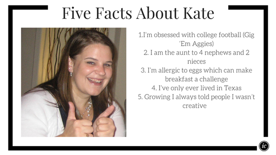 Kate of Kate O' Group shares insight on being a small business owner.